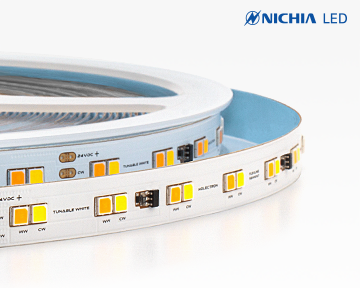 Dynamic white flexible LED strip Nichia