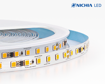 High power short pitch flexible Nichia LED strips