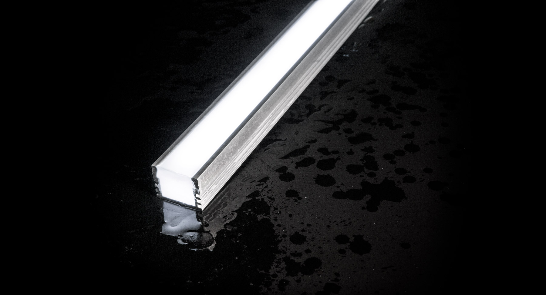 IP67 rated waterproof for outdoor applications with NICHIA LED tunable white strip lights